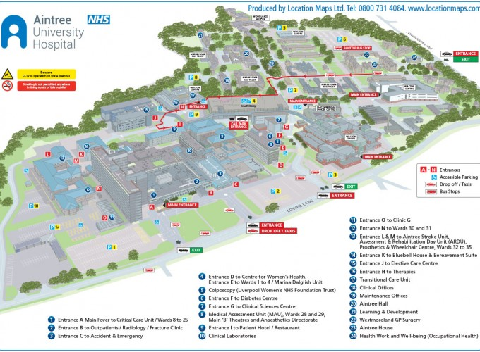 Health sector 3d site plan location maps 3d site