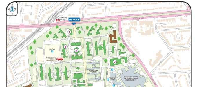 2D Site Maps and Plans for Health Care Sector – Site Plan Maps