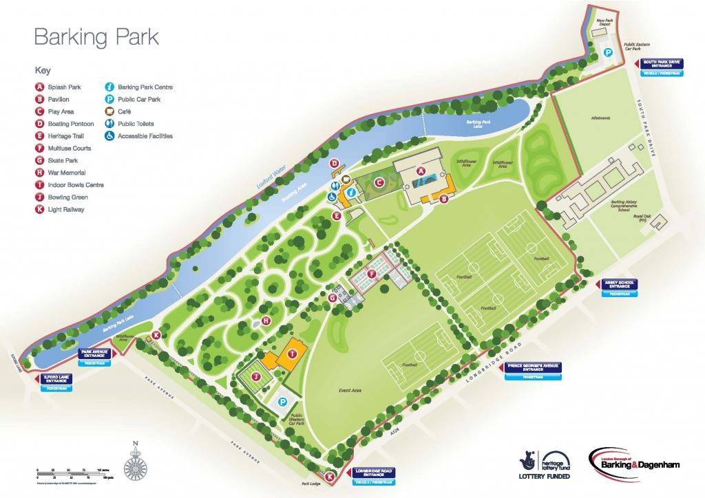 Barking Park A4