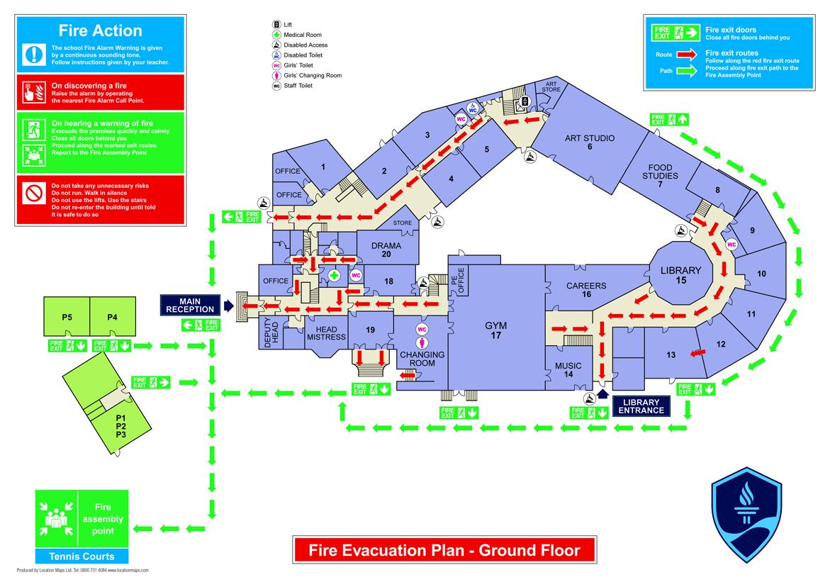 Fire escape plan maker for Fire escape plans