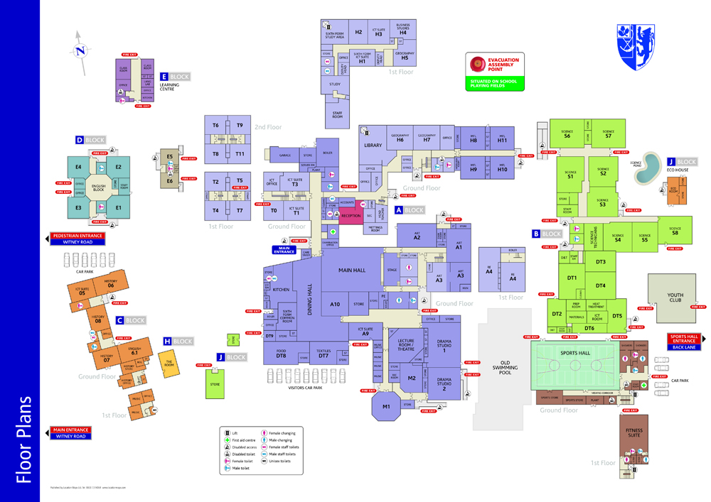 Building Plans Loughborough Part - 15: Location Maps Colour Co-ordinated Floor Plans For Schools And Business Are  Easy To Follow And Help Users To Effectively Move Around Buildings And  Locate ...