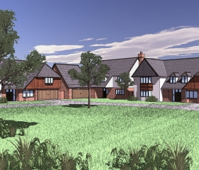 New Houseing Development - visual impression