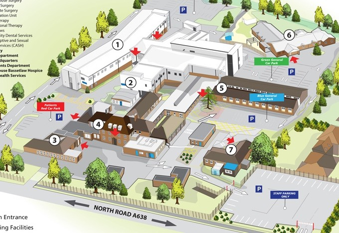 Health Sector 3d Site Plan Location Maps