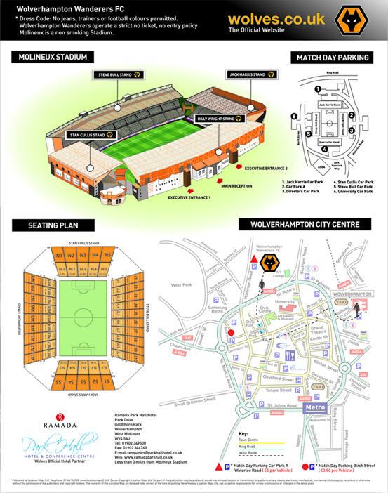 Football Clubs Location Maps