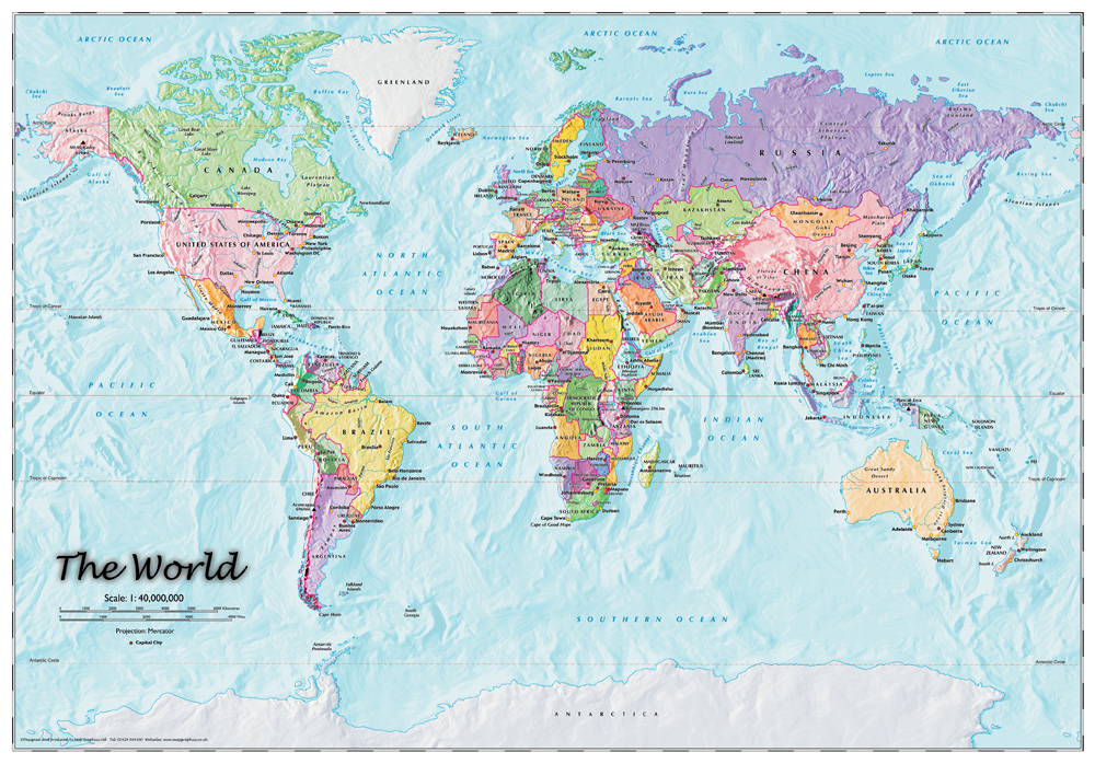 World Maps Country And County Available To Buy Now