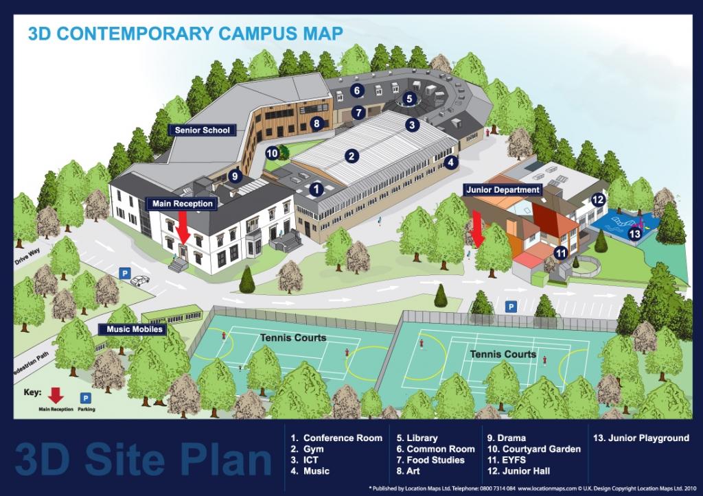 3d contemporary style site plan 3d site plan for 3d site plan