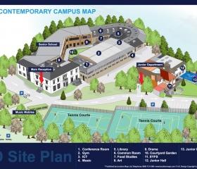 3D CG  Site Plan
